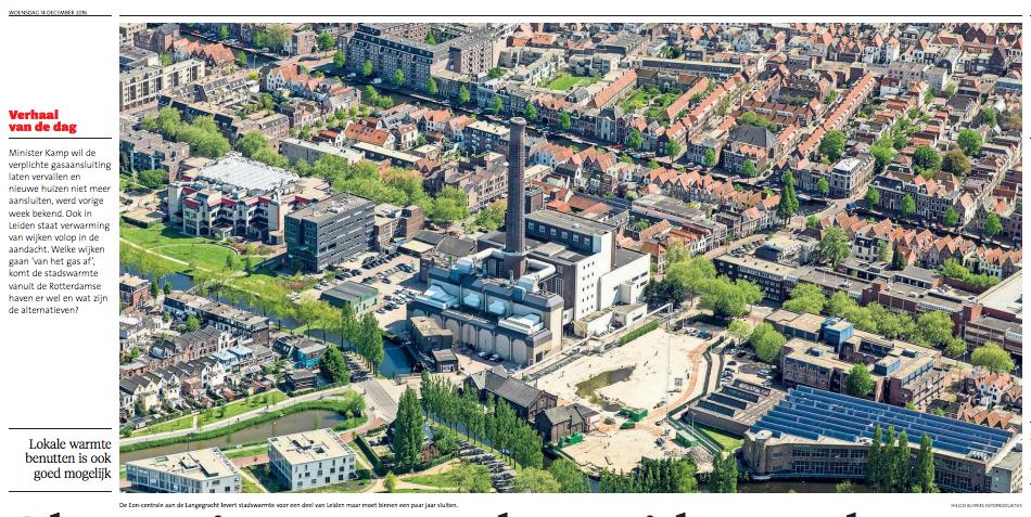 Alternatieven voor de Leidse stadswarmte -Leidsch Dagblad