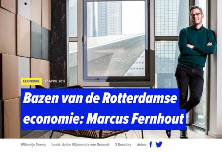 Bazen van de Rotterdamse economie: Marcus Fernhout